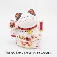 Maneki Neko Lucky Cat Kucing Hoki Small 4