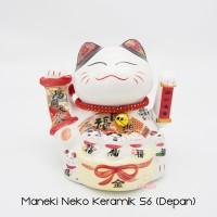 Maneki Neko Lucky Cat Kucing Hoki Small 6