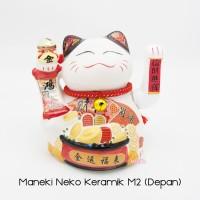 Maneki Neko Lucky Cat Kucing Hoki Med 2