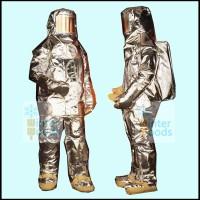 USA Fyrepel Proximity Aluminized Suit 700BA (2000 derajat Fahrenheit)
