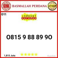 Nomor cantik IM3 11 digit seri Urut tangga 88 89 90 0815 9 88 89 90G11