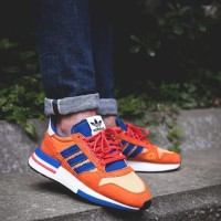 Sepatu Adidas Boost ZX 500 RM Dragon Ball Z Son Goku Premium Quality
