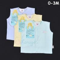LIBBY 3 Pcs Baju Kutung Bayi/Baby Warna Newborn (0-3M)
