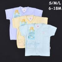 LIBBY 3 Pcs Baju Lengan Pendek Bayi/Baby Warna S,M,L (6-9,9-12,12-18M)