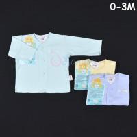 LIBBY 3 Pcs Baju Lengan Panjang Bayi/Baby Warna (0-3M)