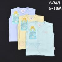 LIBBY 3 Pcs Baju Kutung Bayi/Baby Warna S,M,L (6-9, 9-12, 12-18M)