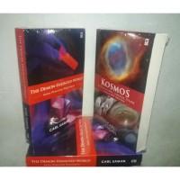 Paket 2 Buku Kosmos & The Demon Haunted World Carl Sagan