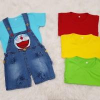 Baju anak / baju anak bayi / overall / baju kodok / doraemon