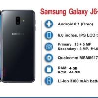 Samsung Galaxy J6+ [4/64] Garansi Resmi SEIN 1 Tahun
