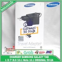 Charger Samsung Galaxy Tab 1 2 7 8.9 10.1 NOTE 10.1 original 100% - Hitam