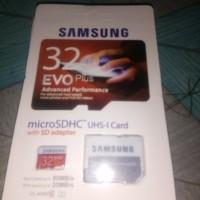 Memory Samsung 32 Gb Micro SD Class 10 Evo Plus Micro Sdhc Card