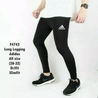 Celana Baselayer Panjang Longpants Adidas Training Gym Legging Renang