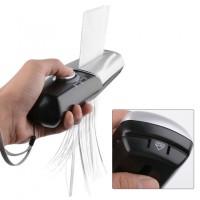 Hand Mini Paper shredder Portable USB Battery alat Penghancur kertas