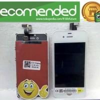 LCD IPHONE 4S / IPHONE 4S + TOUCHSCREEN + FRAME FULLSETT ORI