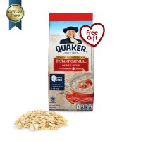 Quaker Instant Oatmeal Large Pack 800g+200g [GWP] [P]