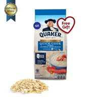 Quaker Quick Cooking Oatmeal Small Pack 200g - 4 Pcs [GWP] [P]