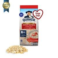 Quaker Instant Oatmeal Small Pack 200g - 4 Pcs [GWP] [P]