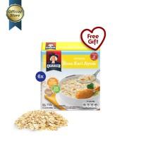 Quaker Instant Oatmeal Kari Ayam Box 4s - 6 Pcs [GWP] [P]