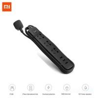 Xiaomi MI Smart Power Strip 3 Colok Dengan 3 Port USB 2A Original - Hitam