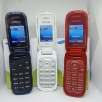 Hp Samsung lipat Caramel GT-E1272 Handphone Caramel Flip Dual SIM