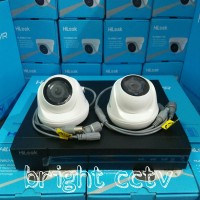 Paket CCTV Hilook 4Ch Full HD 1080P By Hikvision 2 Kamera