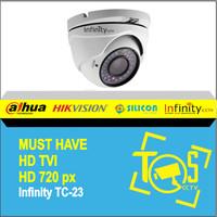 Infinity HDTVI Camera CCTV TC-23 Indoor 720p