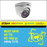 Infinity CCTV HDTVI HD Camera 1080p TC-53 Indoor