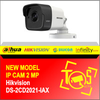 NEW IP HIKVISION 2MP DS-2CD2021-IAX / H.265  LENSA 2.8mm / 4.0mm