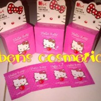 Masker naturgo hello kitty / mk hk / ori MURAH TANPA BOX