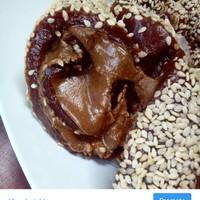 Kue Mochi Roll Gulung Coklat Kacang