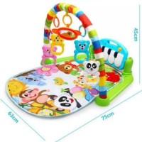 Baby play gym | play mat piano musical