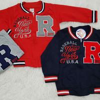 Jacket Anak Bayi Sweater Anak Jaket Baseball
