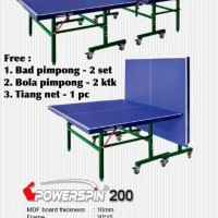 MEJA PINGPONG PING PONG TENIS MEJA POWERSPIN 200 / power spin 200