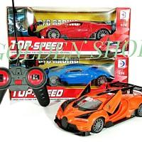 Mainan RC Mobil Remot Top Speed Bugatti Buka Pintu 1:24