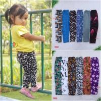 Legging Motif uk 3-4 Tahun / Leging Panjang Anak Perempuan Ketat Adem