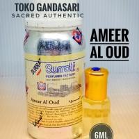 SURRATI AMEER AL OUD 6ml amir amer bibit parfum surati arab saudi