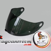 VISOR HELM NOLAN N605 N604 N64 N63 N63 N62 G61 | DARK GREEN | KACA ORI
