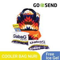 GABAG Nuri Tas Popok/ Diaper & Cooler Bag Pop Series FREE 2 Ice Gel