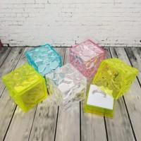 Kotak Cincin Kristal Kotak Warna Warni