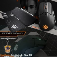 Bundle SteelSeries Rival 310 Qck Limited Free Keychain