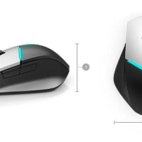 MOUSE GAMING DELL ALIENWARE AW558 BLACK