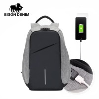 Bison Denim-Tas Ransel/Tas Laptop Code Lock New (BISON 2714-2H/2B)