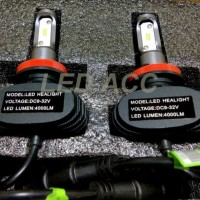 LAMPU H8 H11 H16 FOG LAMP LED S1 TYPE CSP SINGLE BEAM 6000K 4000LM