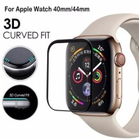 Tempered Glass Full cover 3D Apple watch series 4 44mm anti gores kaca