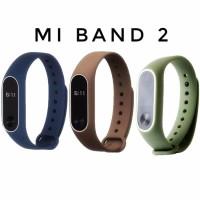 """Xiaomi Mi Band 2 Strap Tali Gelang Karet Silikon Silicone Jam -"""""""