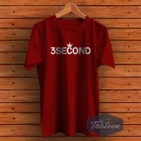 Kaos Baju Obral Combed 30S Distro 3SECOND MAHKOTA 3SCO 3 SCO SECOND