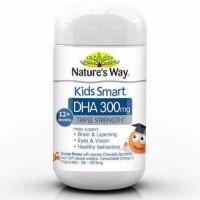 nature's way kids smart DHA triple strength 300 mg 12+ weeks isi 50