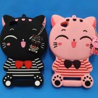 Case 4D CAT SMILE Xiaomi Redmi 5a /Karakter/Soft/Silikon/3D/MIMI CAT