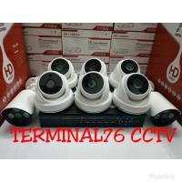 PROMO PAKET MURAH CCTV 4MP 1080 8 CH FULL HD LENGKAP