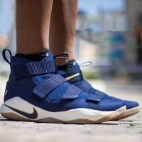 Sepatu Basket Nike Lebron Soldier 11 Midnight Navy Premium Quality